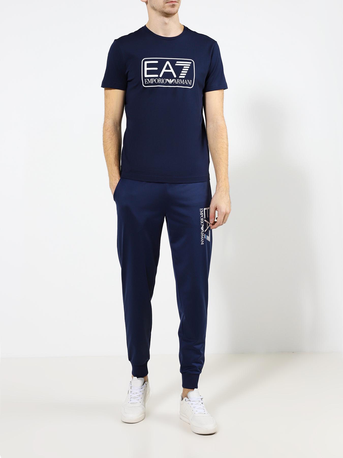 Фуфайка (футболка) EA7 Emporio Armani Футболка кроссовки ea7 emporio armani кеды