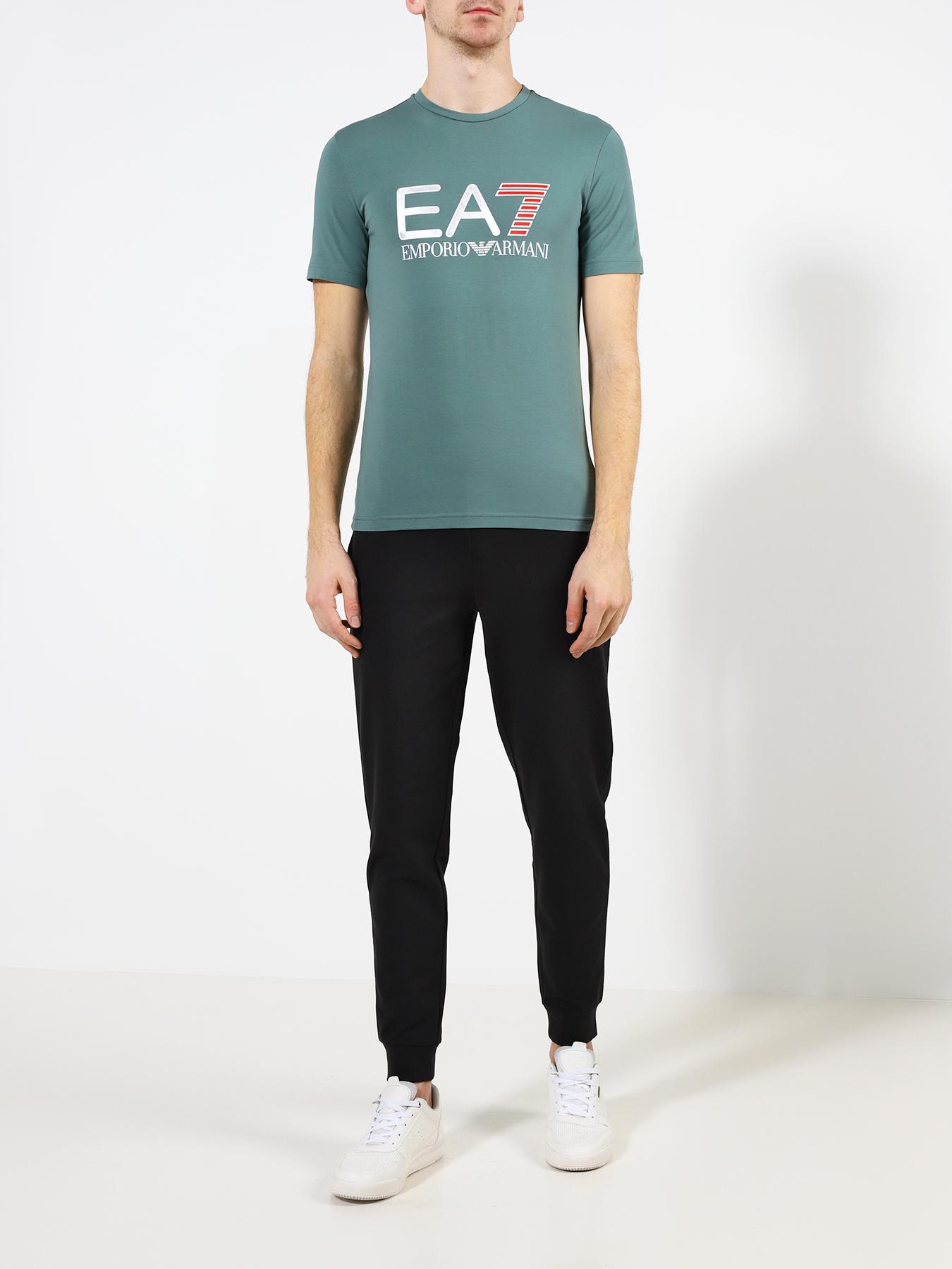 Фото - Фуфайка (футболка) EA7 Emporio Armani Футболка ea7 ea002emuei30