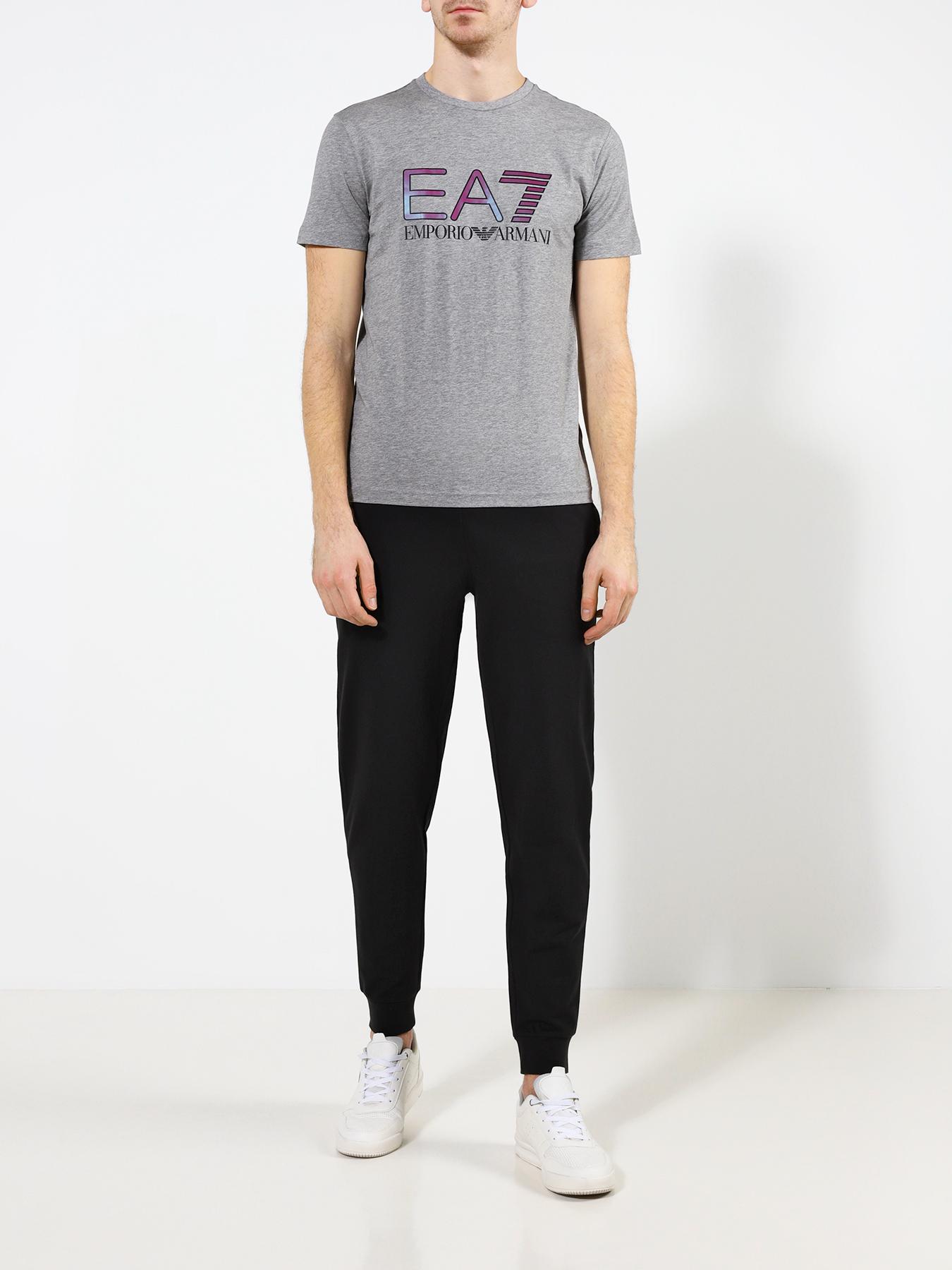 Фуфайка (футболка) EA7 Emporio Armani Футболка плавки ea7 ea7 ea002emdqwz1