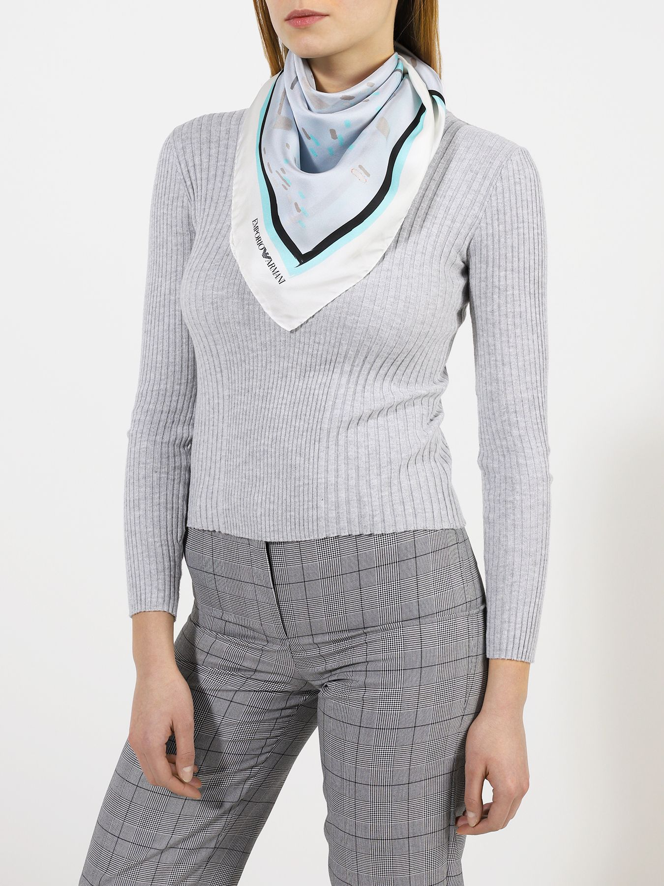 Платок Emporio Armani Шелковый платок