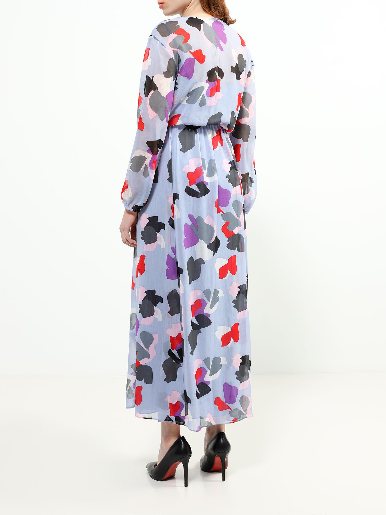 Платье Emporio Armani Платье легкое асимметричное платье emporio armani