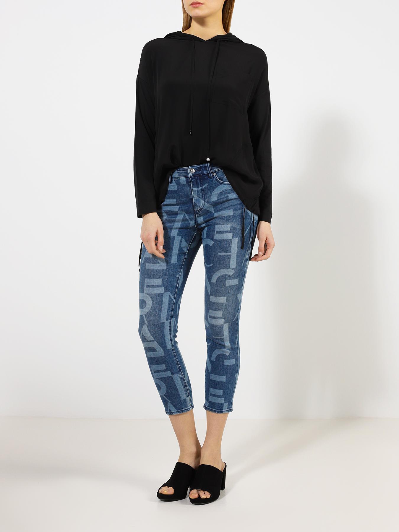 Брюки Armani Exchange Укороченные джинсы J61 джинсы lime укороченные джинсы
