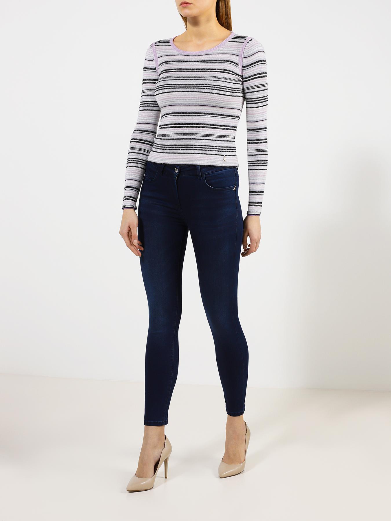 Брюки Patrizia Pepe Облегающие джинсы джинсы patrizia pepe размер 152 0325 белый зеленый