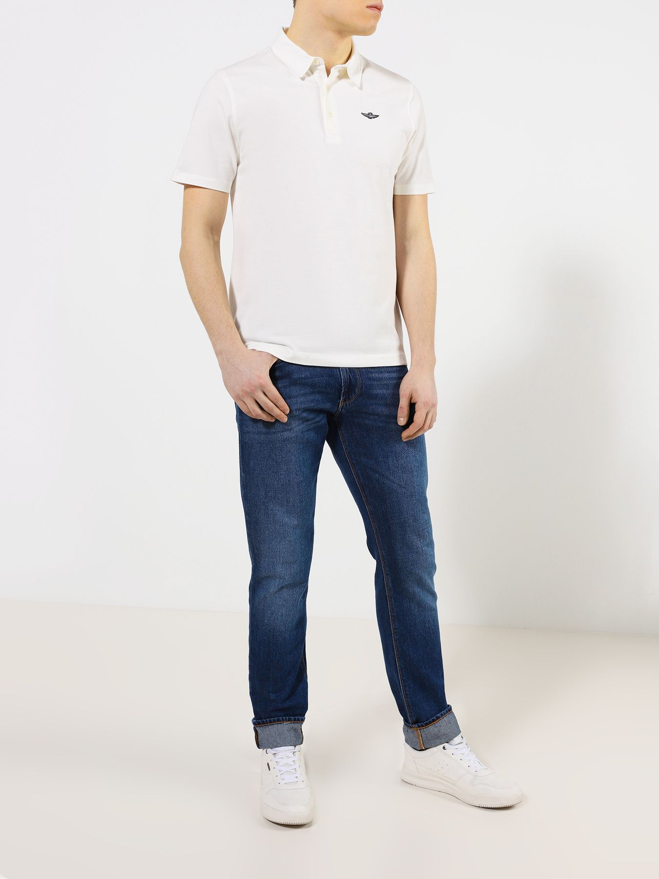 """Рубашка с воротом """"поло"""" Aeronautica Militare Поло"""