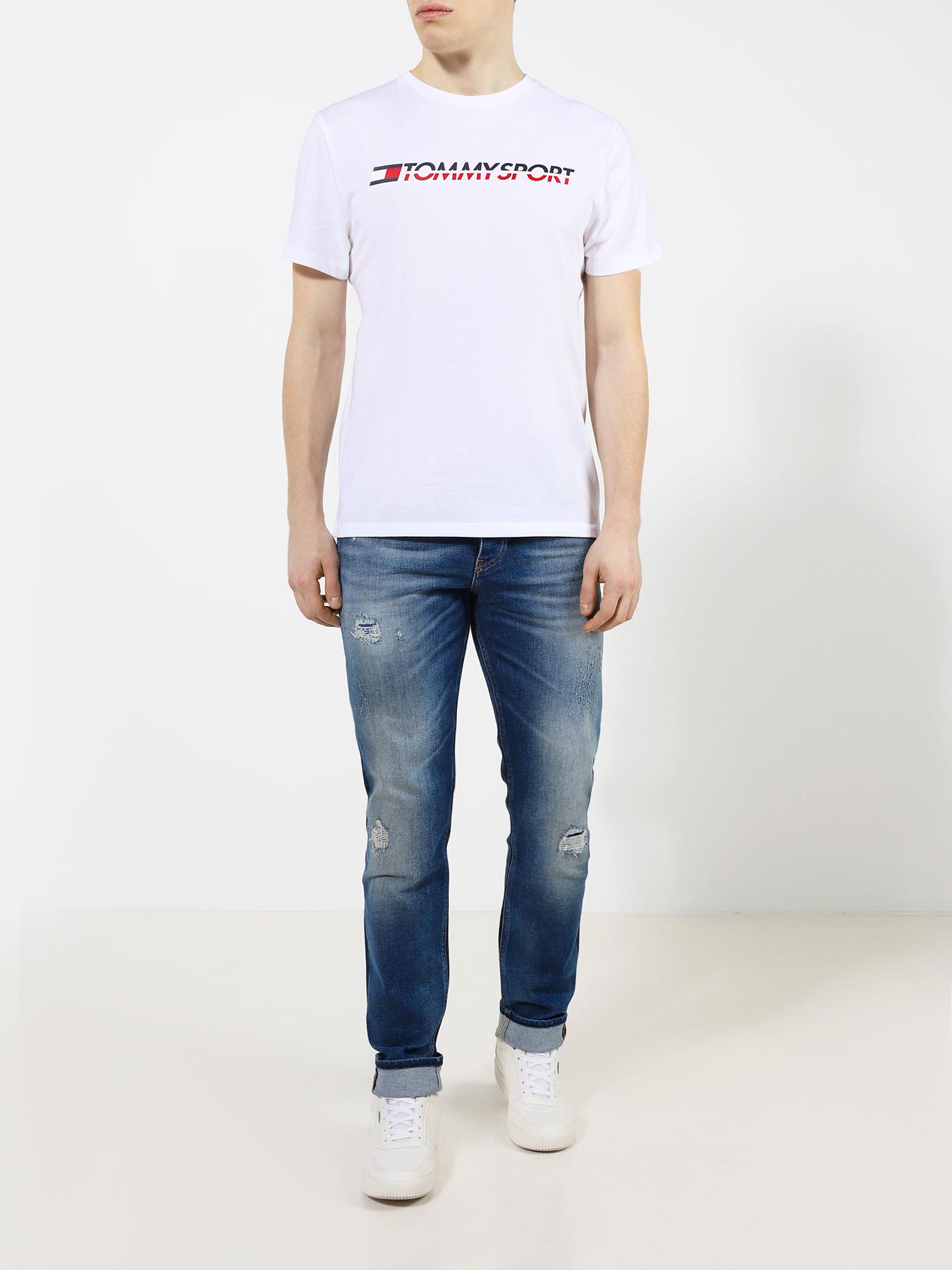 Фуфайка Tommy Sport Футболка футболка tommy sport tommy sport to058ewfvxm5