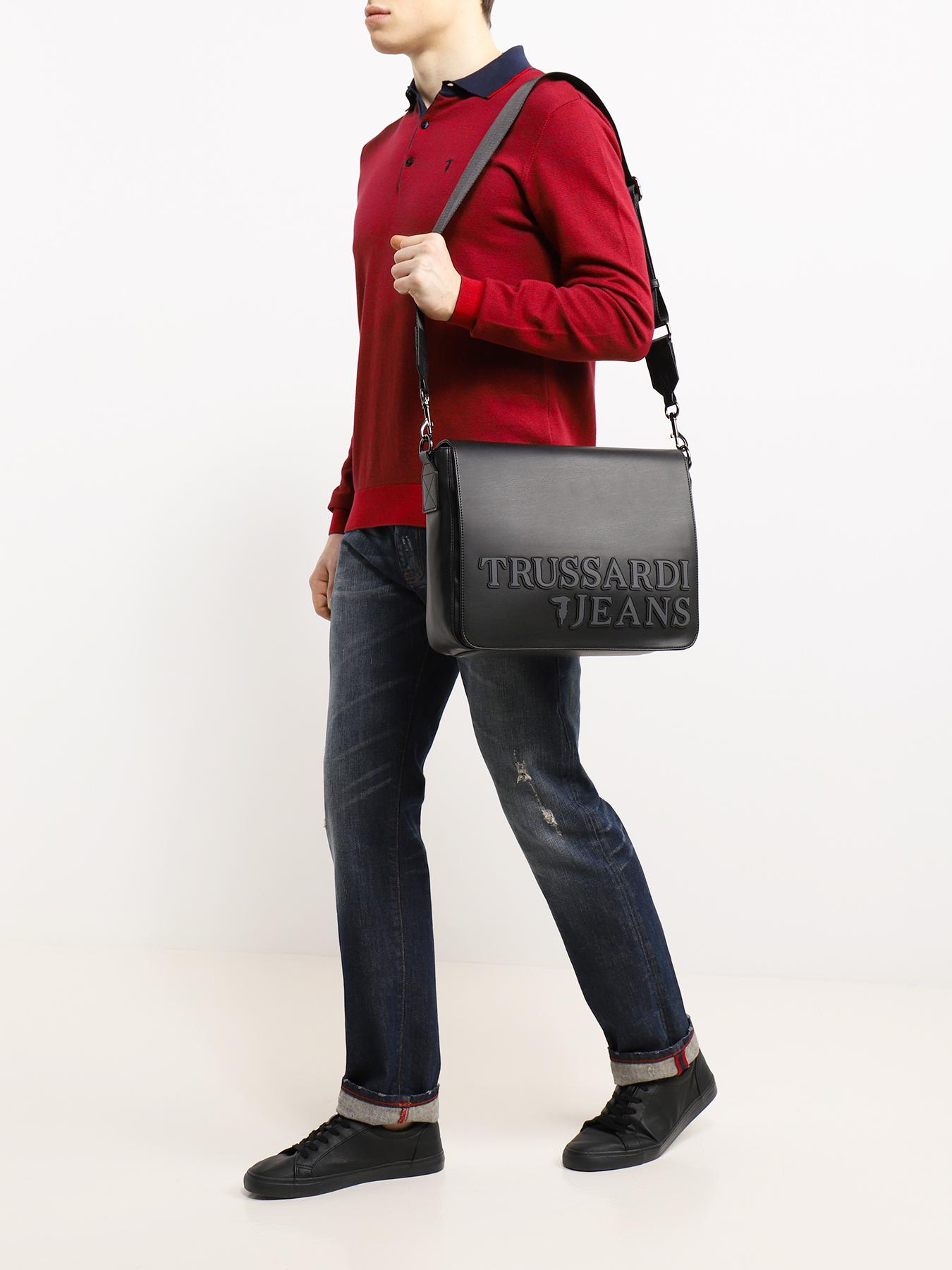 Сумка Trussardi Jeans Мужская сумка сумка shoiberg shoiberg mp002xw0gwqy