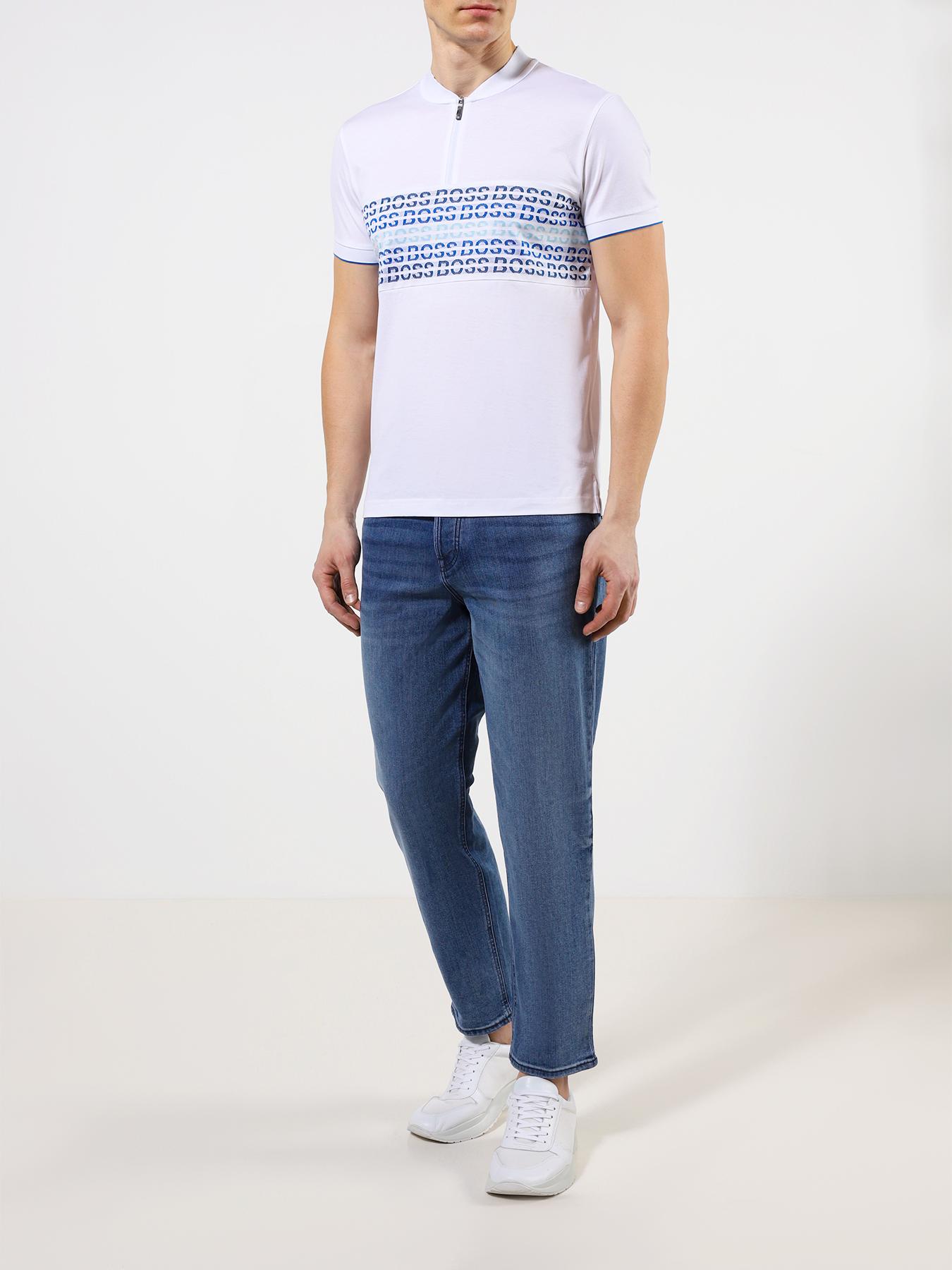 BOSS Зауженные джинсы Tempe фото