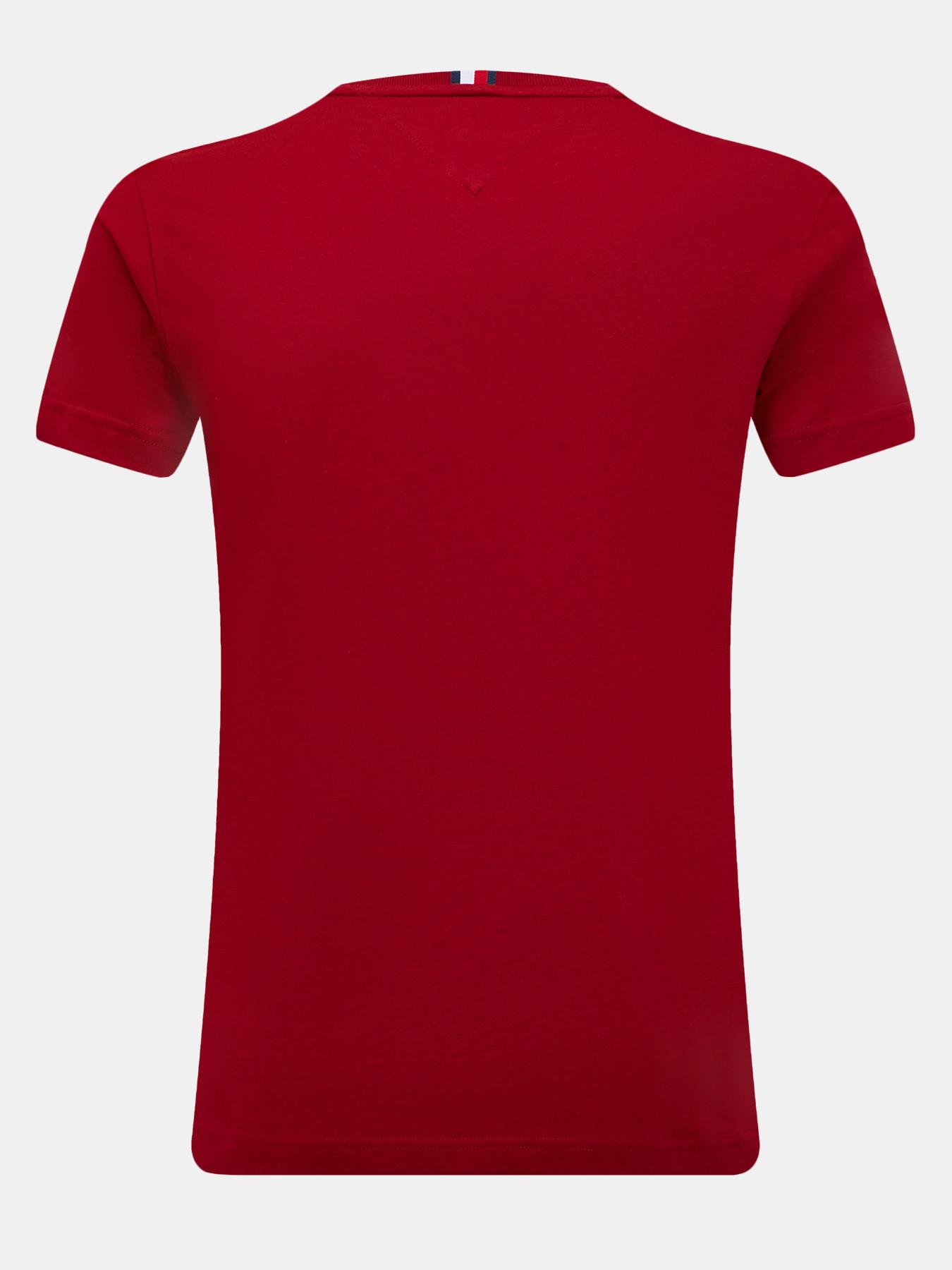 Фуфайка (футболка) Tommy Hilfiger Футболка футболка tommy hilfiger tommy hilfiger to263emfyol8