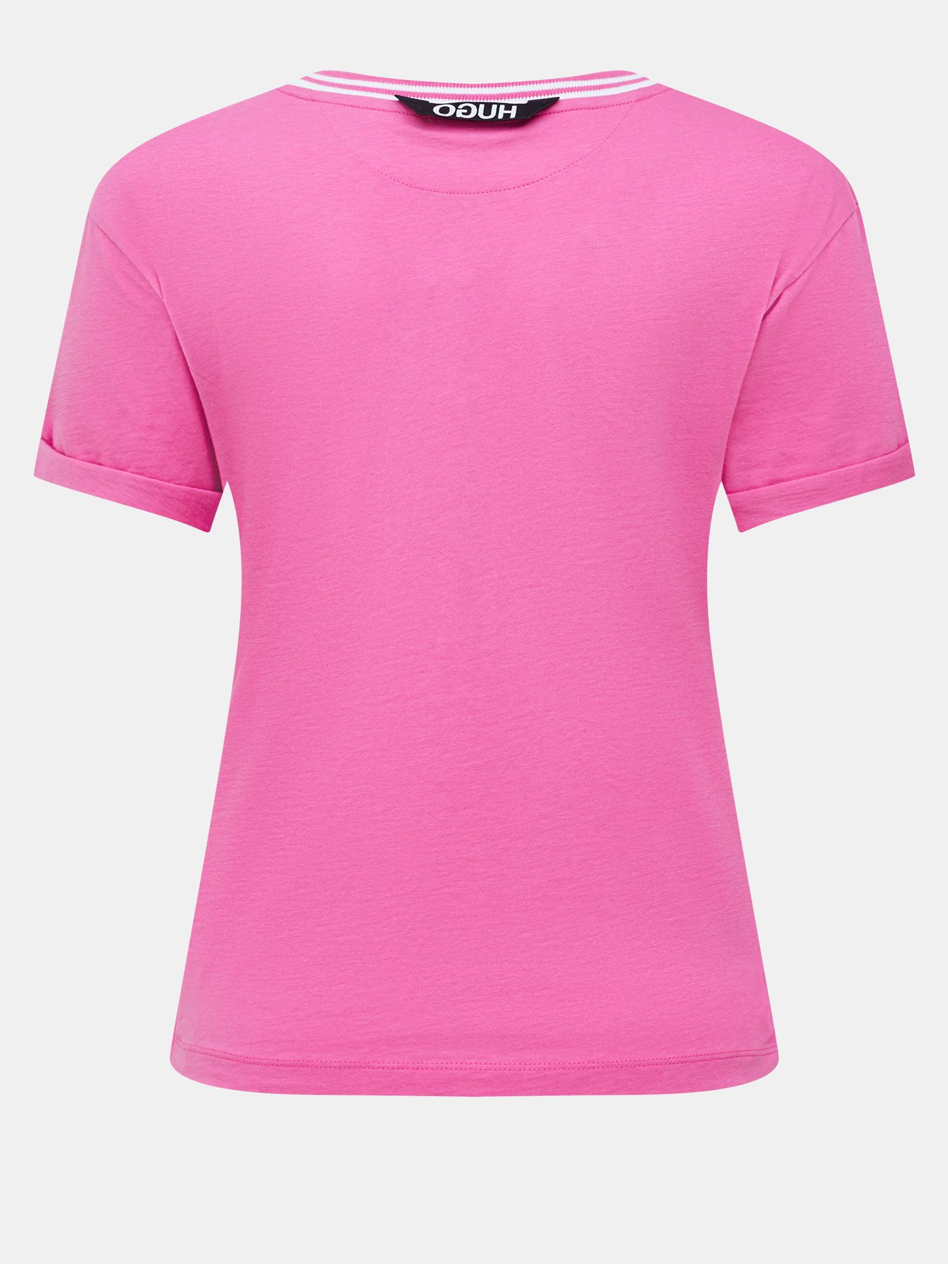 Фуфайка (футболка) HUGO Футболка Datina фуфайка футболка hugo футболка drosal