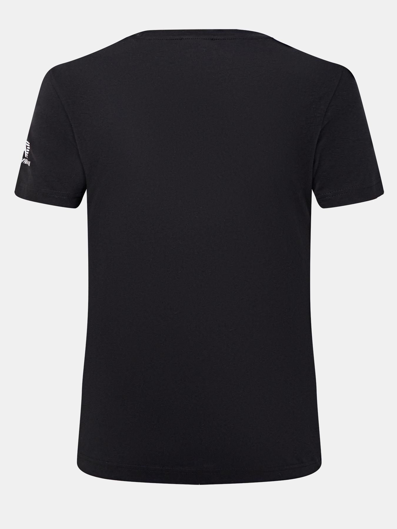 Фуфайка (футболка) EA7 Emporio Armani Футболка футболка ea7 ea7 ea002emdqxl8