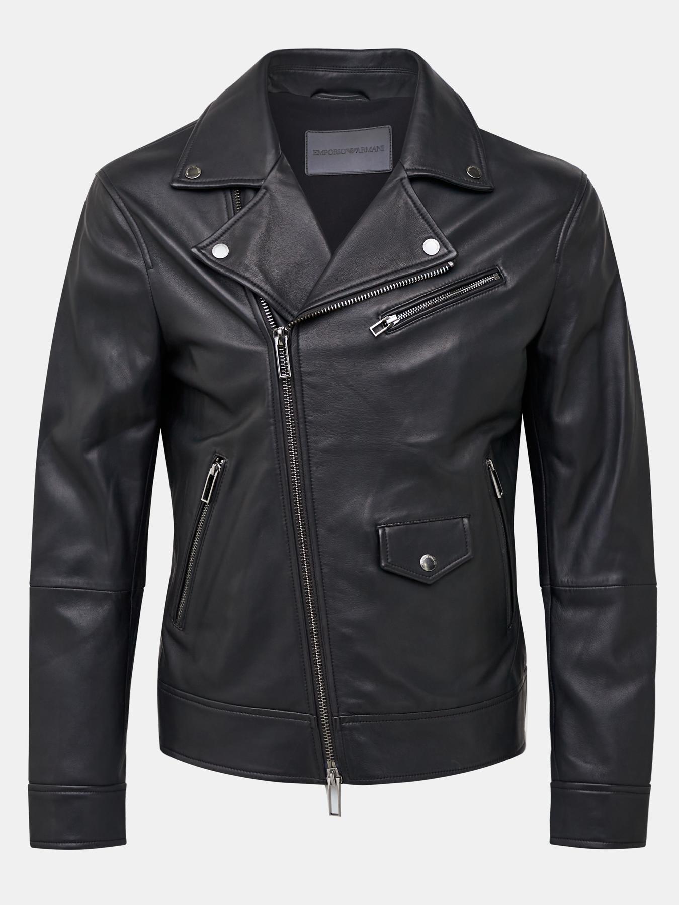 Куртка Emporio Armani Кожаная куртка панама emporio armani emporio armani em598cmhndn0