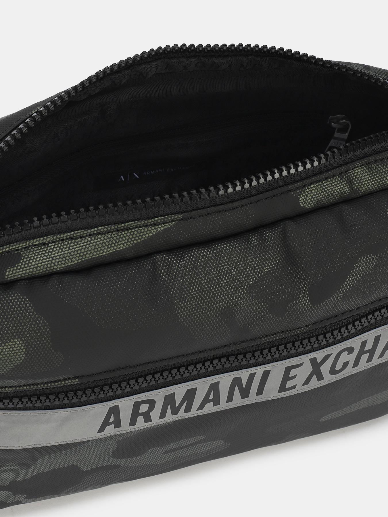 Сумка поясная Armani Exchange Поясная сумка сумка поясная kokosina kokosina mp002xw0fdcc