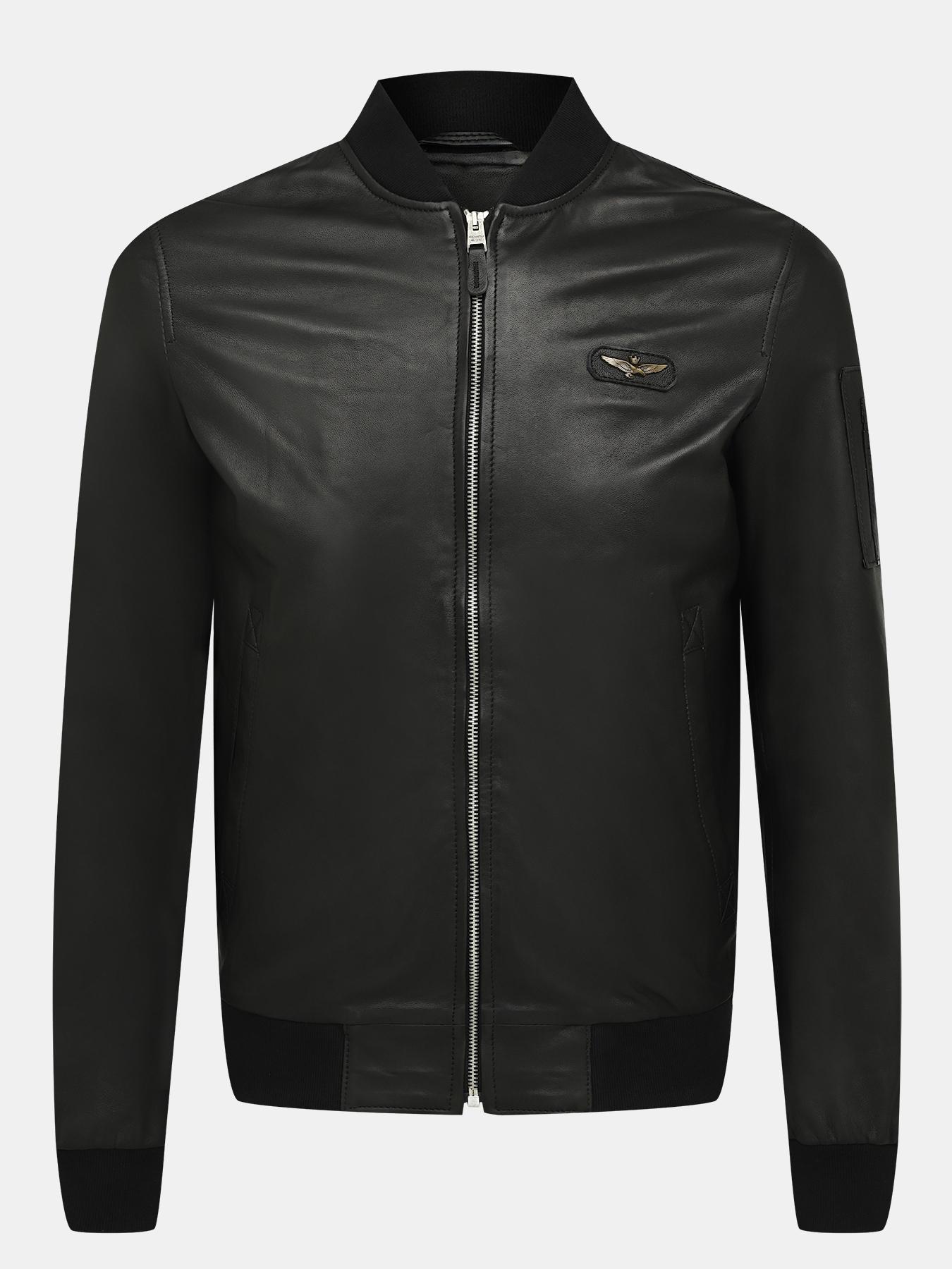 Кожаные куртки Aeronautica Militare Кожаный бомбер