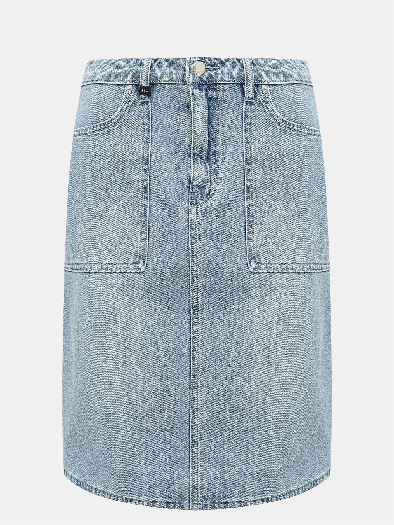 Фото - Юбки Armani Exchange Джинсовая юбка sandro джинсовая юбка