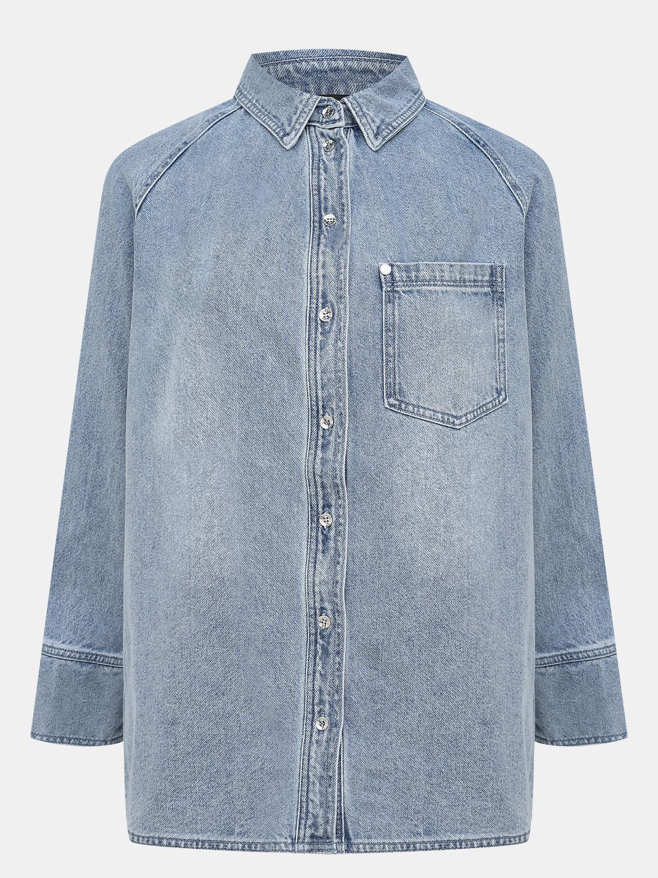Фото - Рубашки Armani Exchange Джинсовая рубашка pierre darré джинсовая рубашка