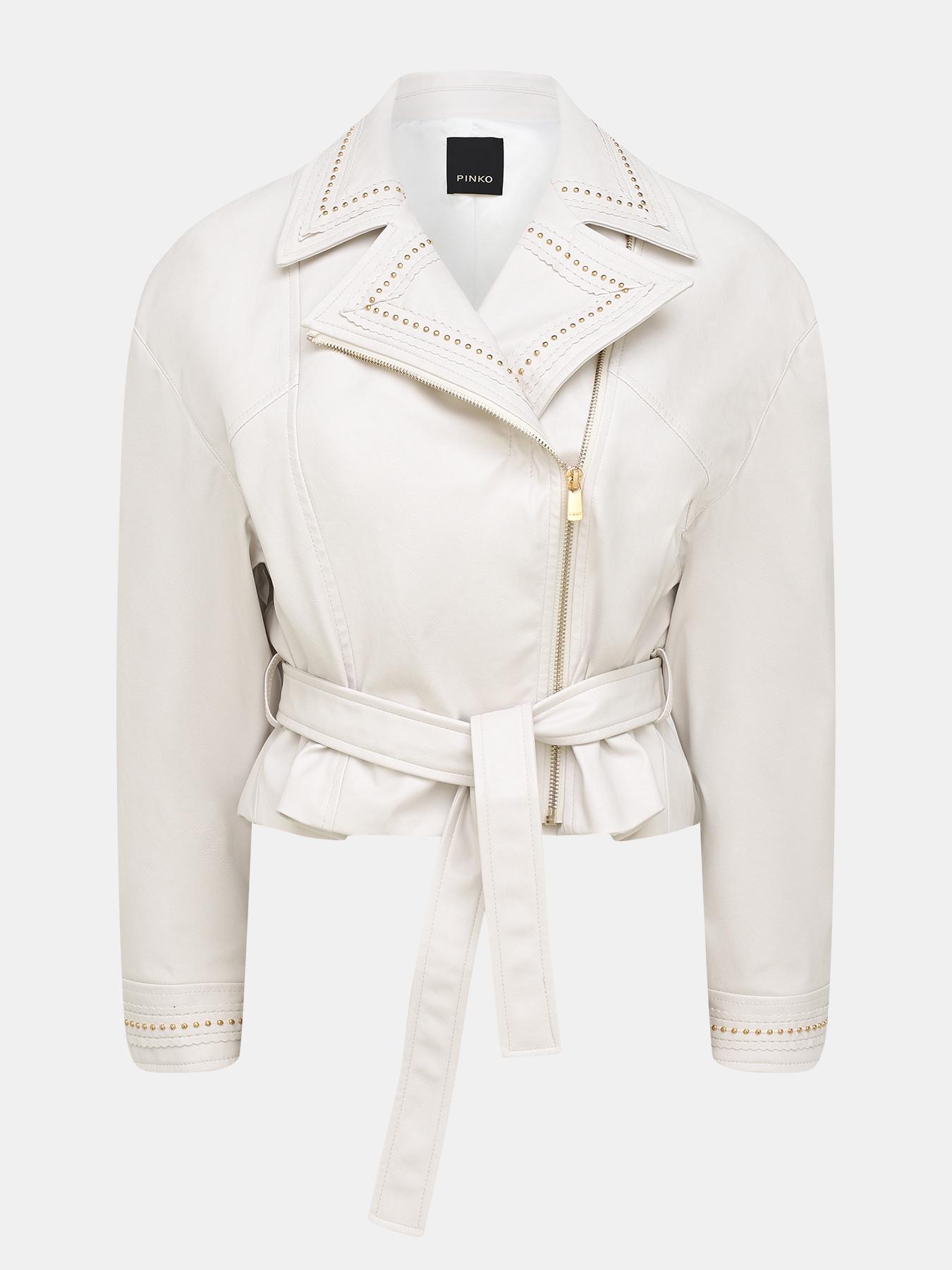 Фото - Кожаные куртки Pinko Кожаная куртка кожаная куртка mauritius кожаная куртка