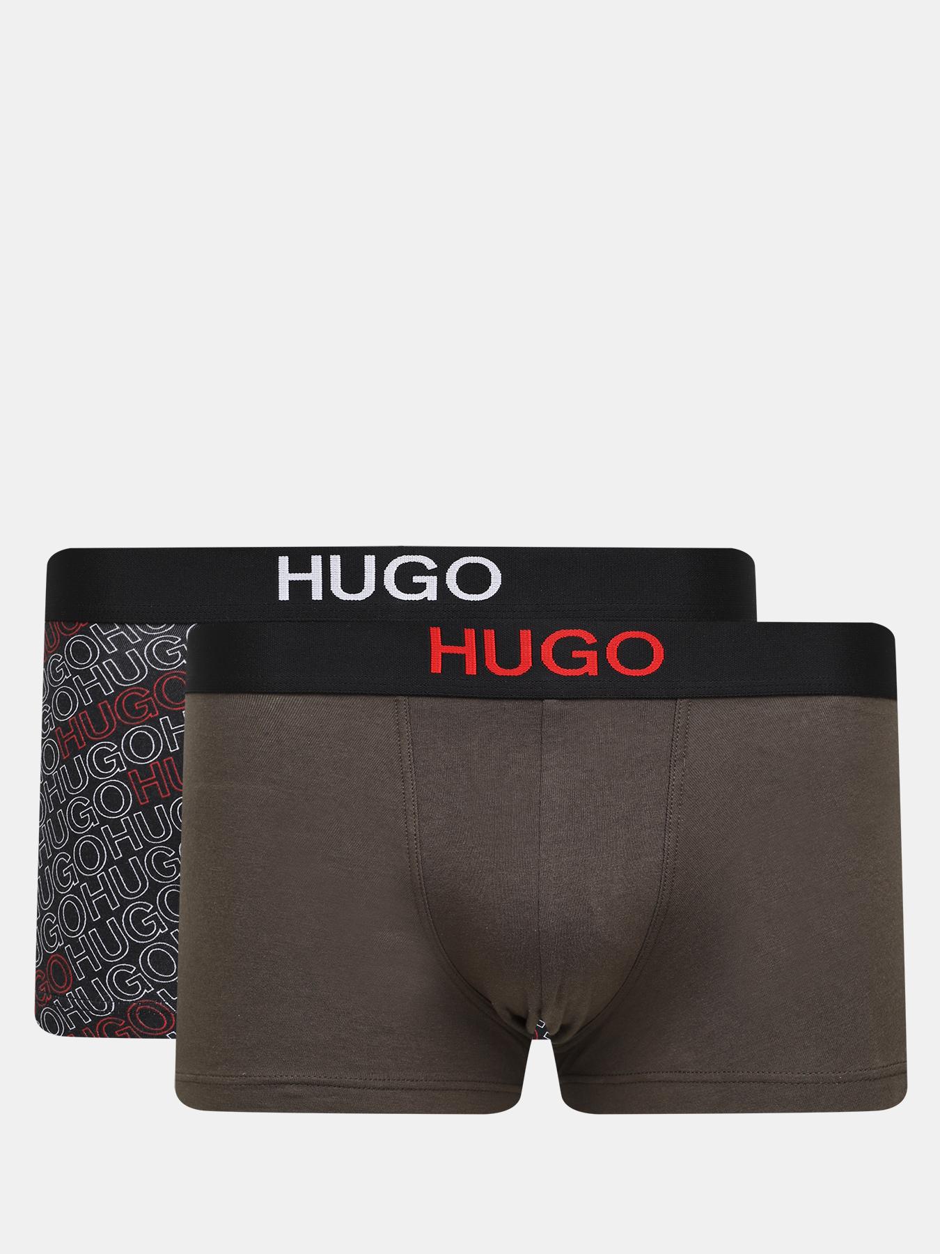 Фото - Комплекты HUGO Боксеры TRUNK BROTHER PACK (2 шт) трусы hugo мужские боксеры trunk brother 2 шт