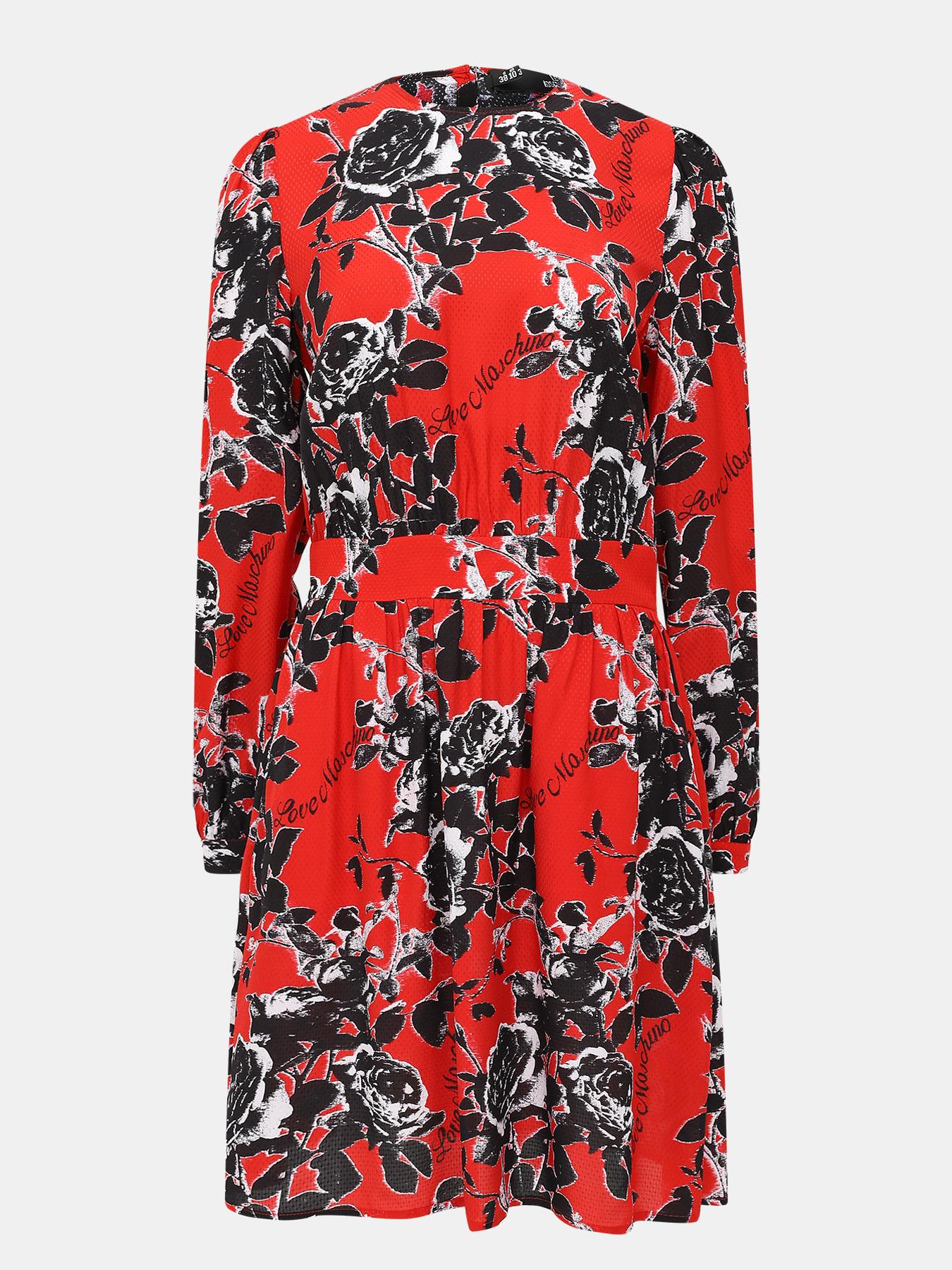 платье love moschino love moschino lo416ewaevk7 Платья Love Moschino Платье